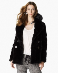 Juicy Couture Teddy Coat Black JG004872