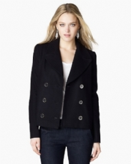 Juicy Couture Wool Melton Peacoat School Blues JG004870